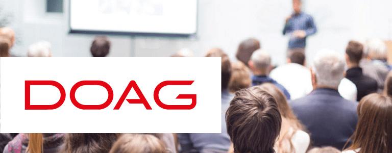 etomer hält Vortrag auf dem DOAG DAY Datenbanken 2018