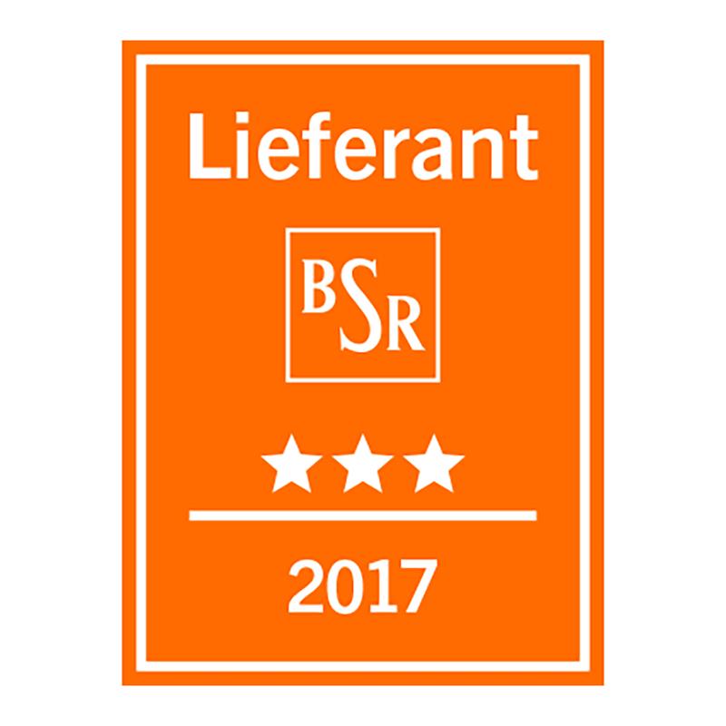 BSR zeichnet etomer zum Lieferanten 2017 aus