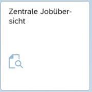 Screenshot Link zur zentralen Jobübersicht