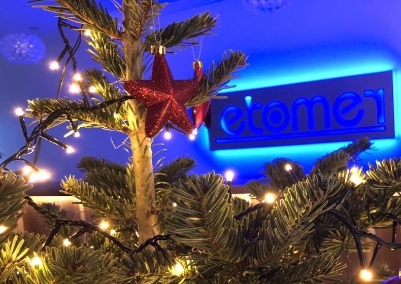 etomer wünscht Ihnen eine besinnliche Adventszeit und ein frohes Weihnachtsfest